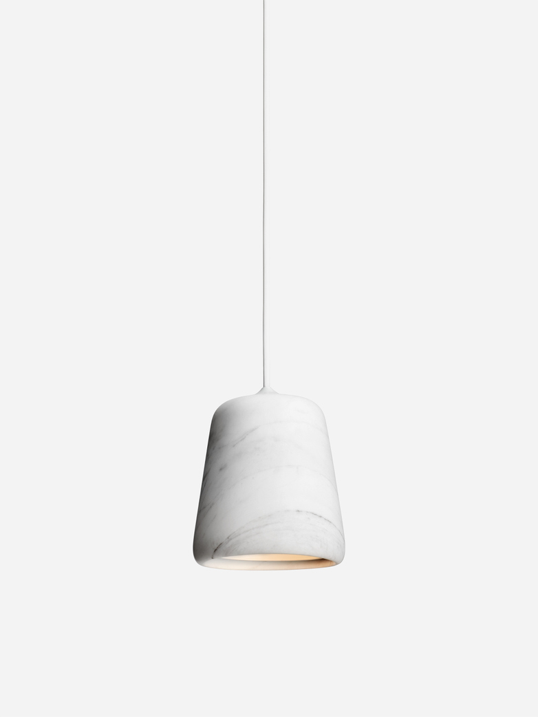 Material Pendant – White Marble