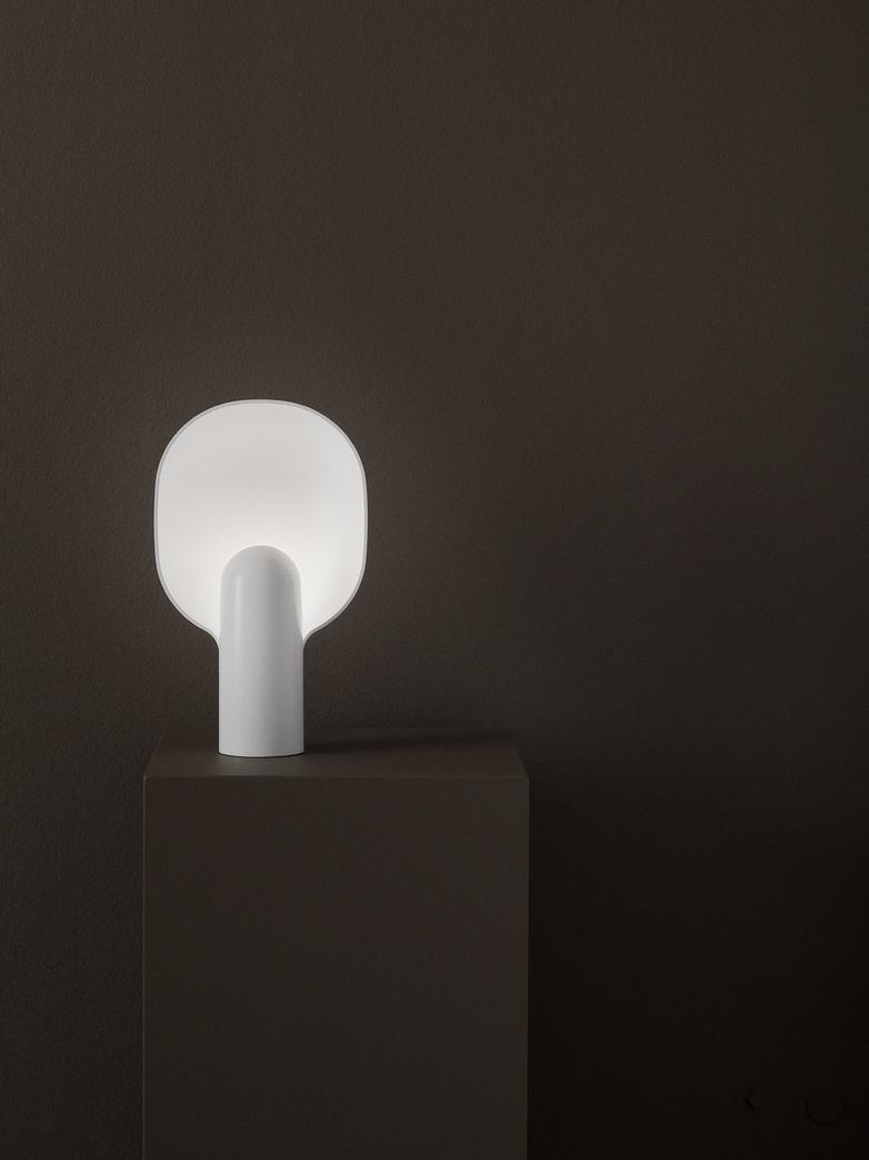 Ware Table Lamp – Milk White