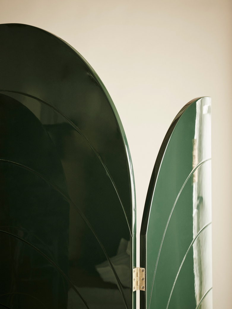 Unfold Room Divider – Dark Green