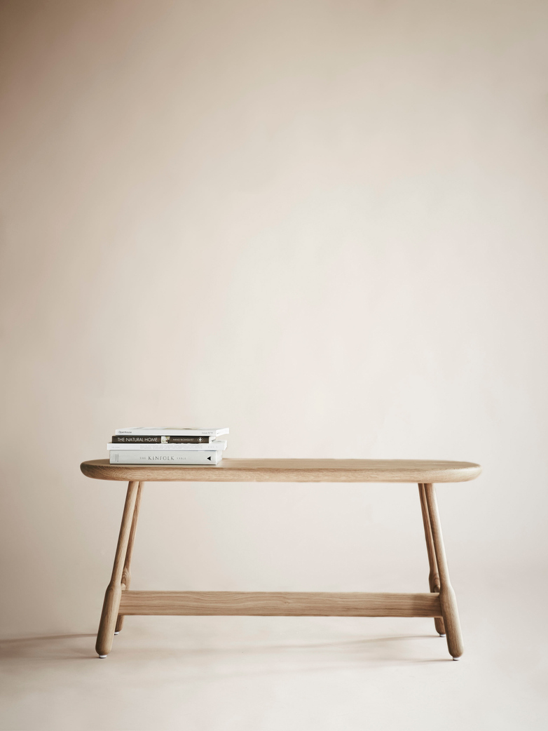 Albert Bench – Natural Oak