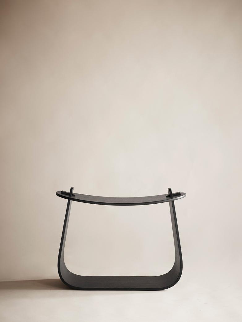 Harry Stool – Black Stained Oak