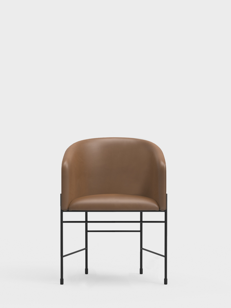 Covent Chair – Cognac Leather
