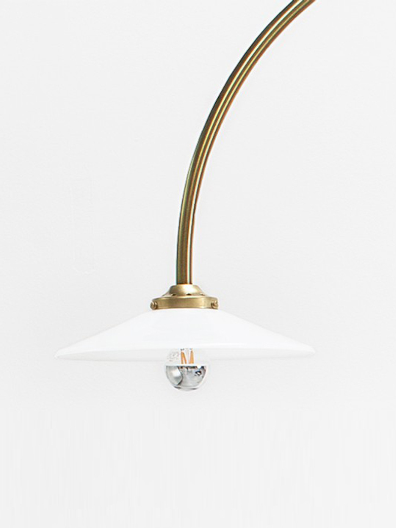 Standing Lamp N1 – Brass