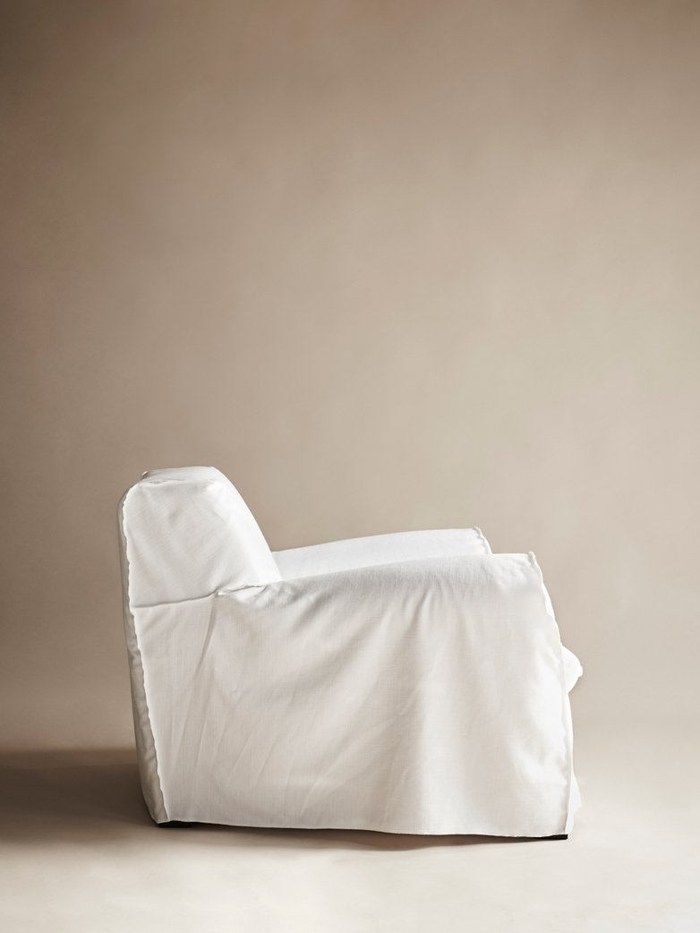 Big XL Armchair – Bianco