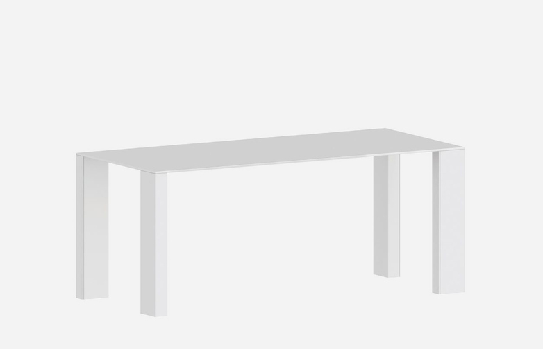 Big Gim Dining Table – White