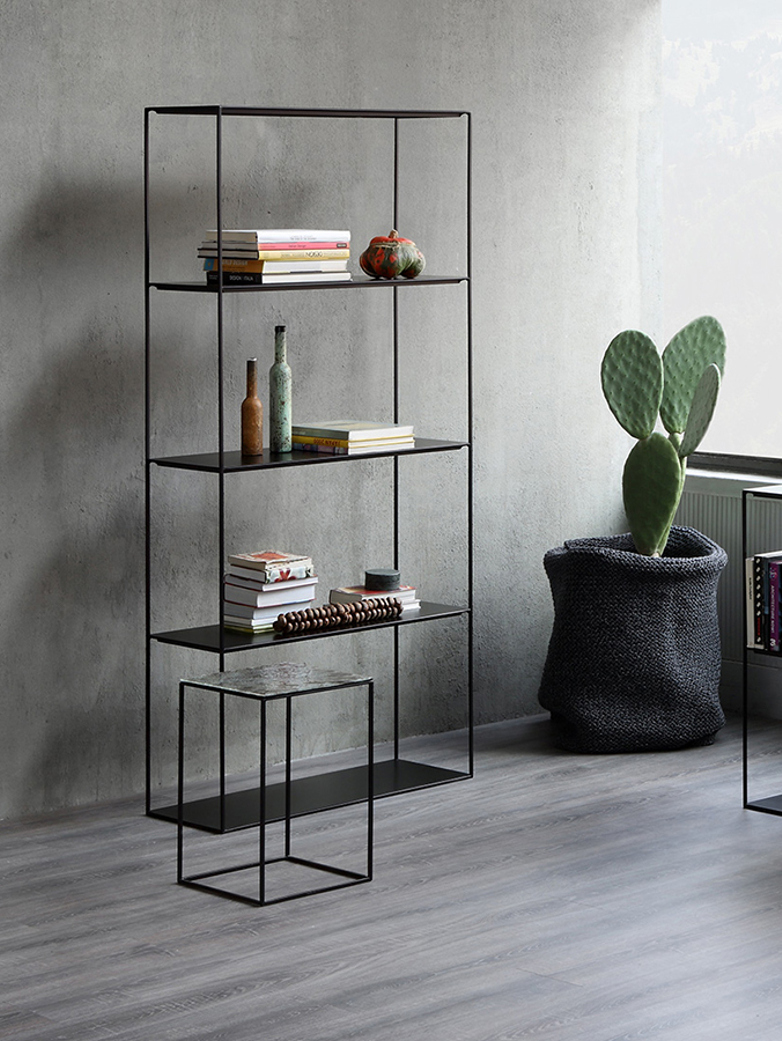 Slim Irony Rack – Black