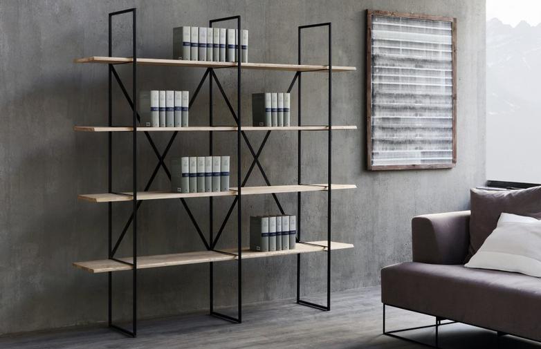 Slim Irony Bookcase