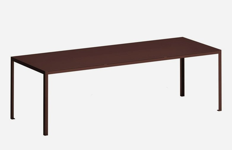 Tavolo Outdoor Dining Table – Rust