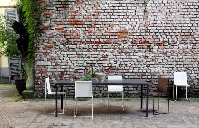 Tavolo Outdoor Dining Table – Gunsmoke