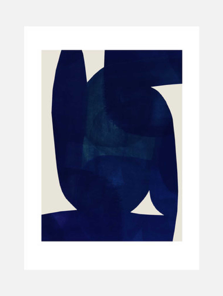 Blue Shape – 50x70