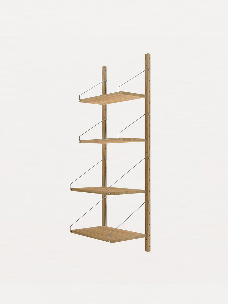 Shelf Library H148 W40 Section – Natural