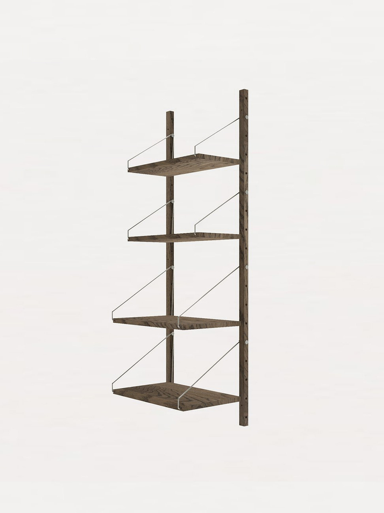 Shelf Library H148 W40 Section – Dark