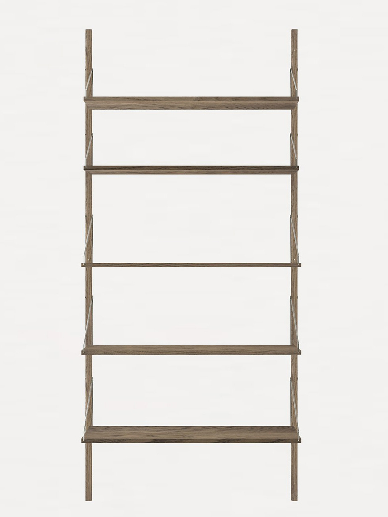 Shelf Library H185 Single Section – Dark