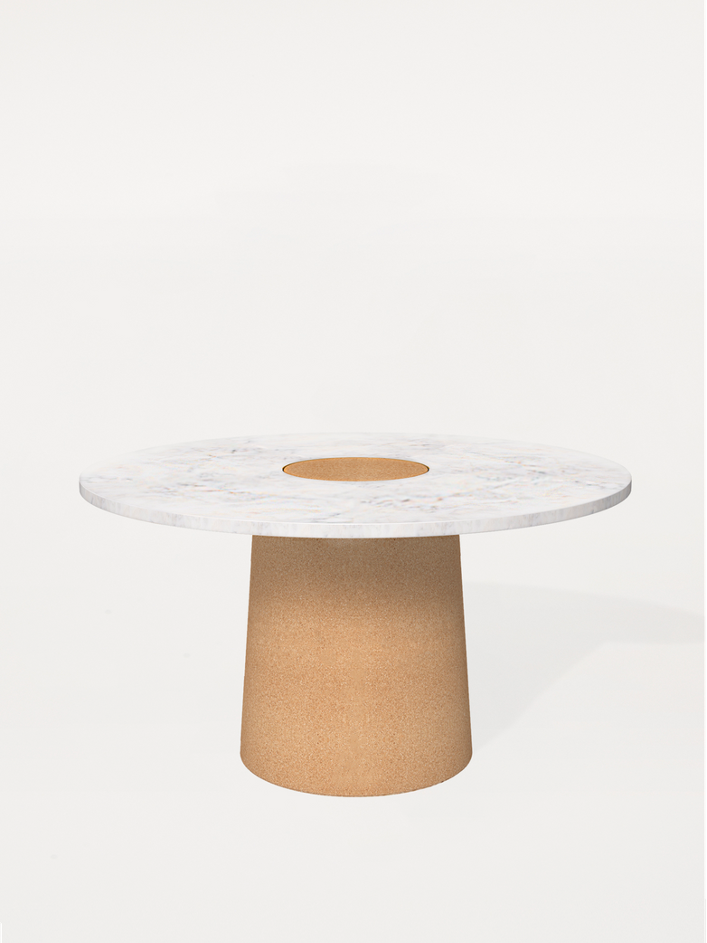 Sintra Dining Table - White Marble