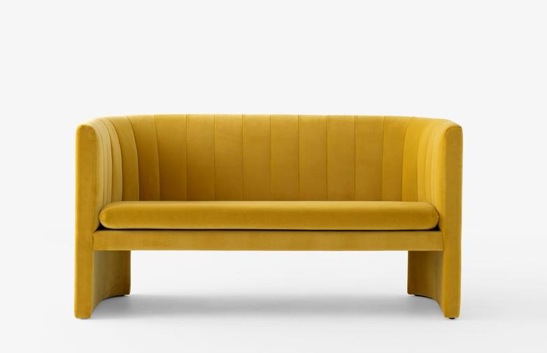 Loafer Sofa - SC25 - Velvet Dandelion