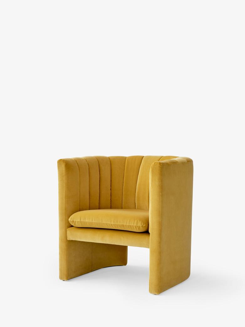 Loafer Lounge Chair - SC23 - Velvet Dandelion