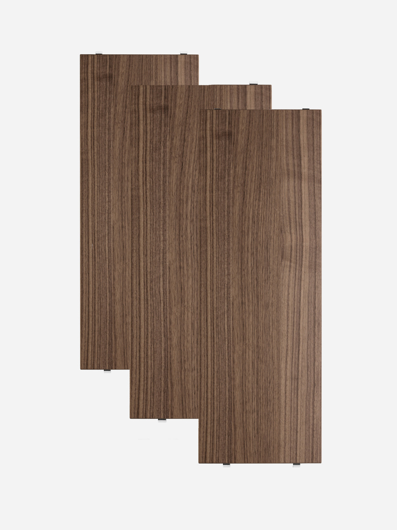 Shelves 3-pack – Walnut
