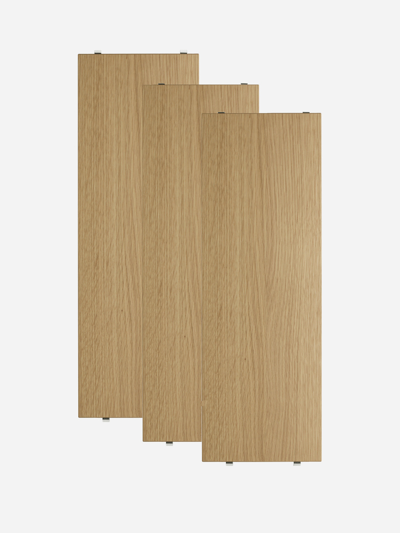 Shelves 3-pack – Oak