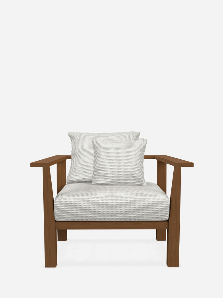 Inout 01 Lounge Chair – Category D - Wafer Bianco