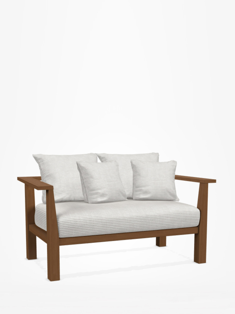 Inout 02 Love Seat – Category D - Wafer Bianco
