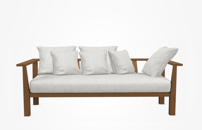Inout 03 Sofa – Category D - Wafer Bianco