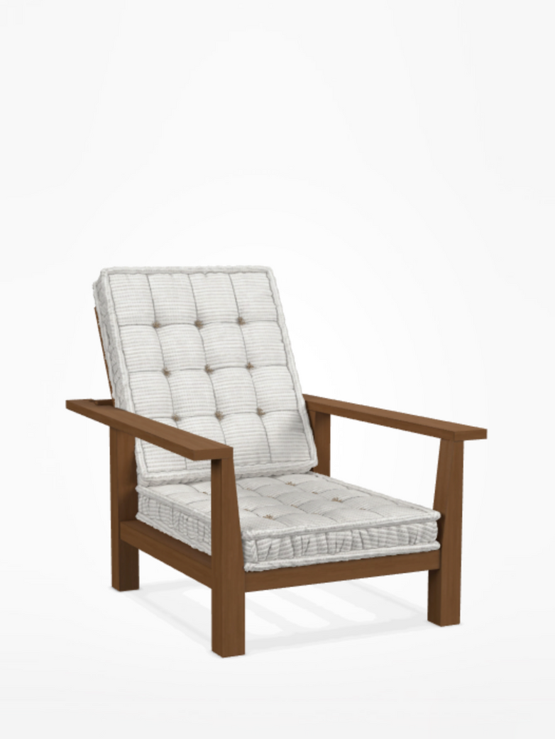 Inout 09 Easy Chair – Category D - Wafer Bianco