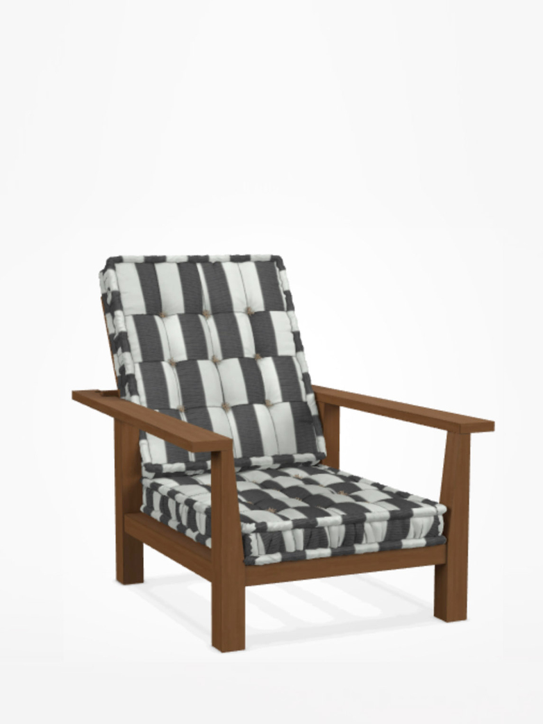 Inout 09 Easy Chair – Category C - Canete Rigato Nero