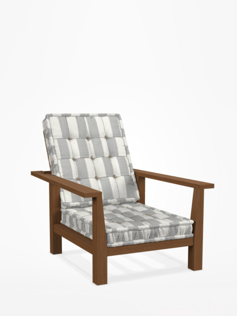 Inout 09 Easy Chair – Category C - Canete Rigato Grigio