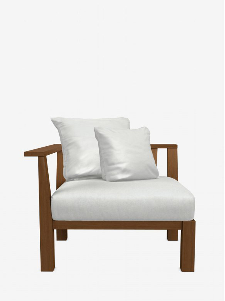 Inout 27 L Armchair – Category D - Wafer Bianco
