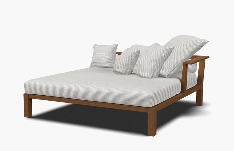 Inout 83 R Day Bed – Category D - Wafer Bianco
