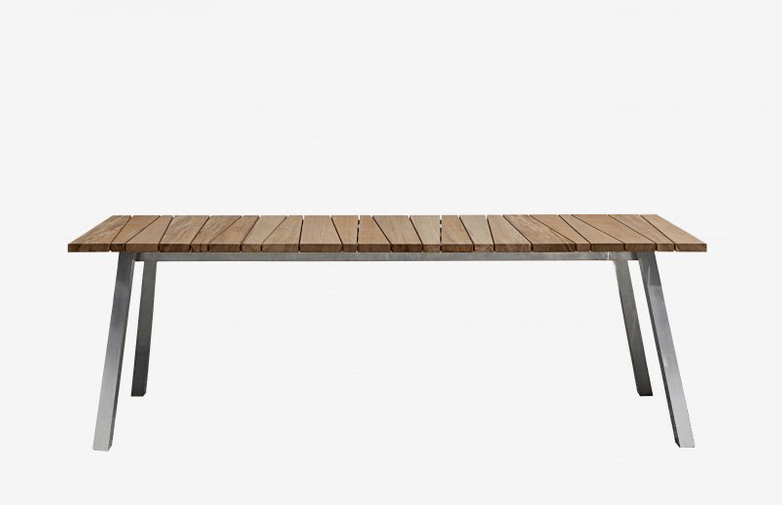 Inout 133 Table – Teak/Grey