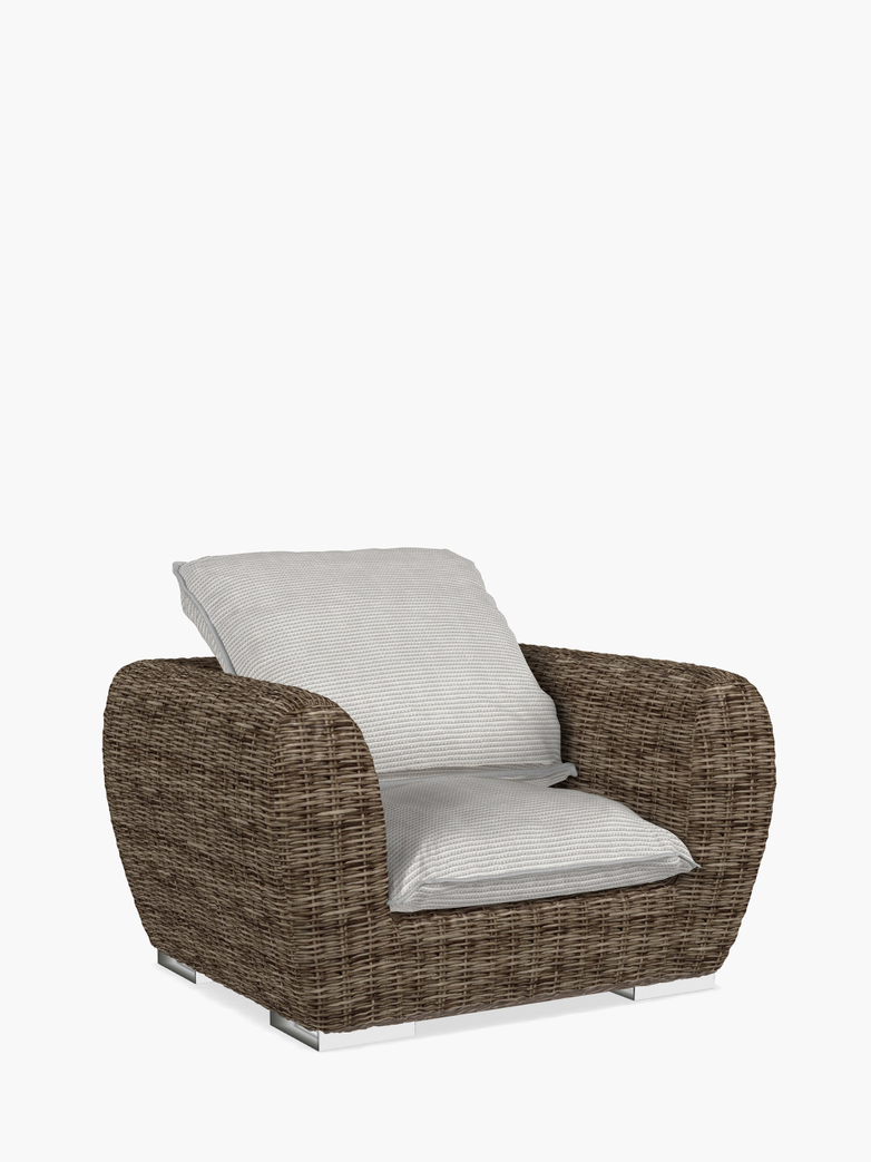 Inout 625 Armchair Rattan – Category D - Wafer Bianco