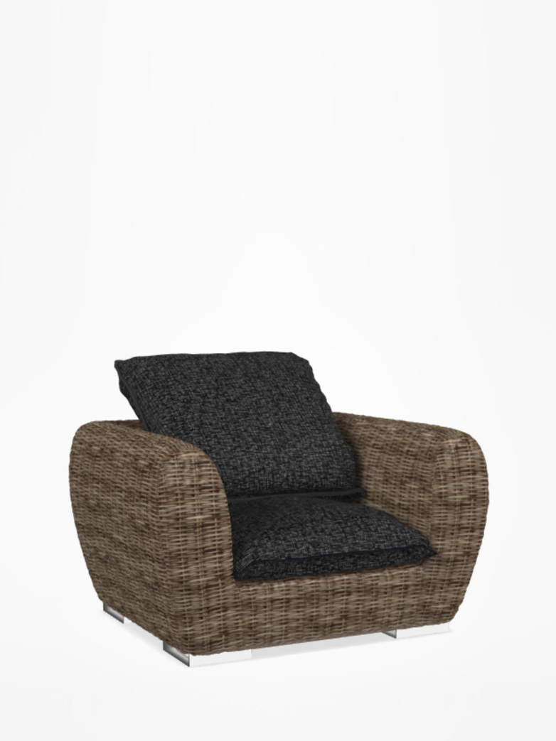 Inout 625 Armchair Rattan – Category C – Rete Nera