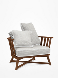 Inout 707 IR Armchair – Category D - Wafer Bianco