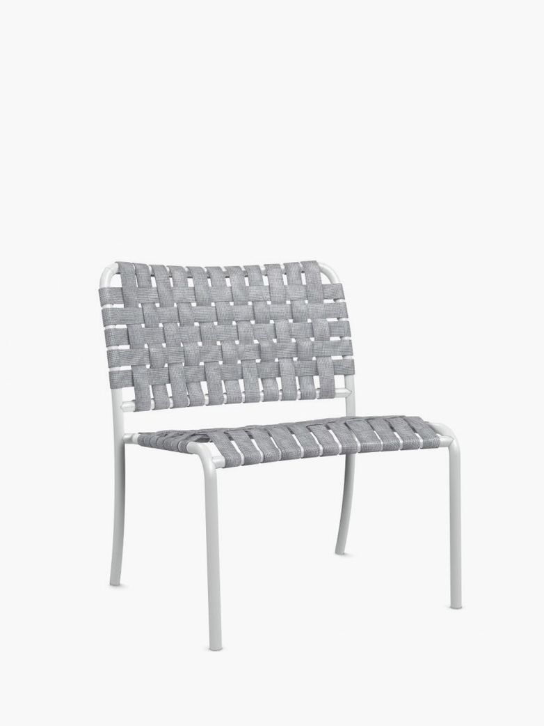 Inout 825 C Lounge Chair – White/Grey