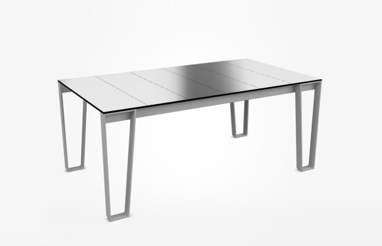 Inout 938 Table – White Lava Stone