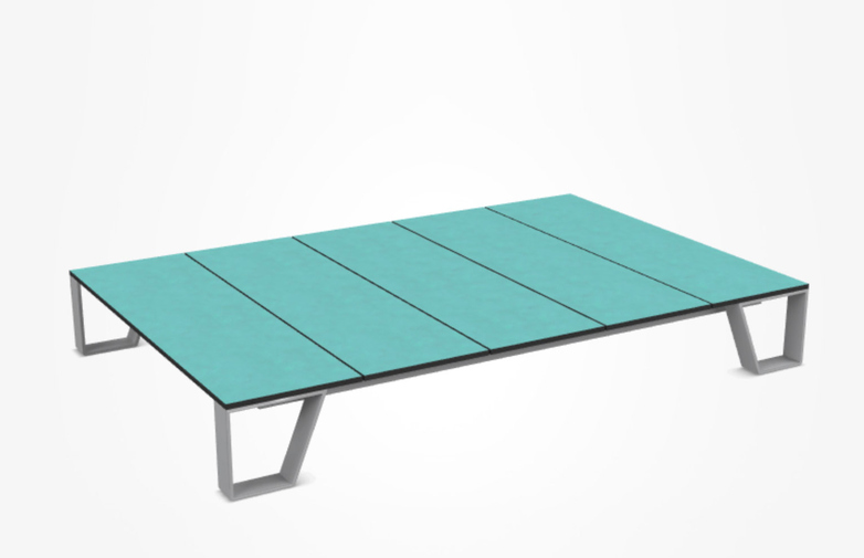 Inout 955 Coffee Table – Turquoise Lava Stone