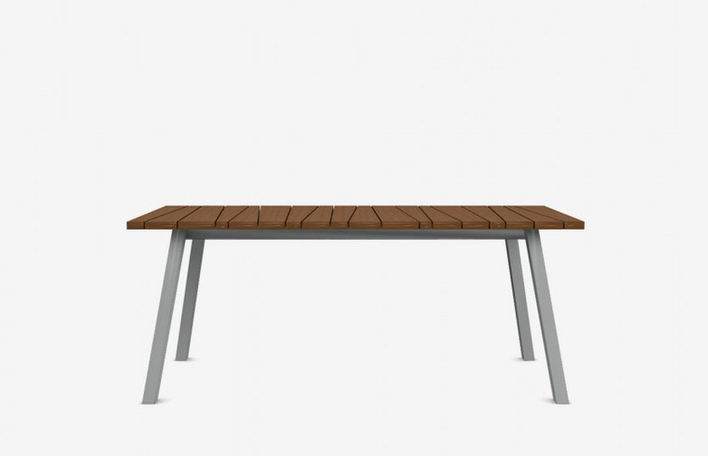 Inout 134 Table – Teak/Grey