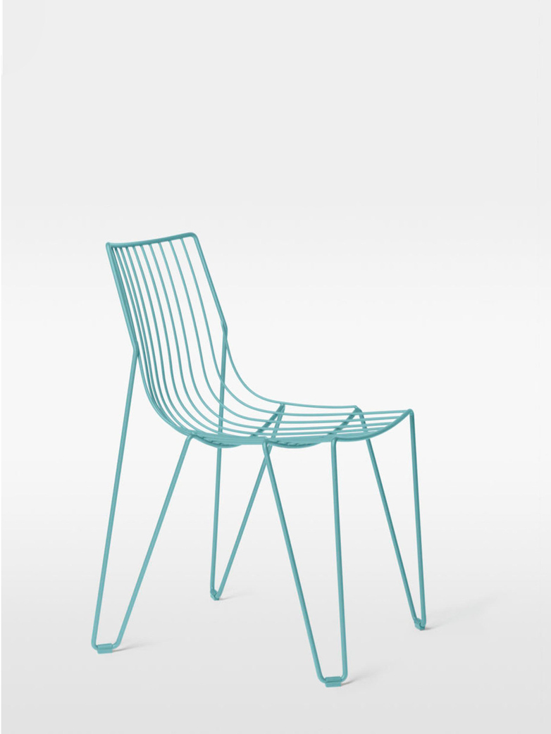 Tio Chair – Pastel Turquoise