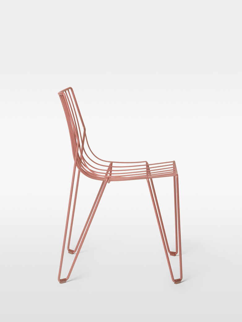 Tio Chair – Beige Red