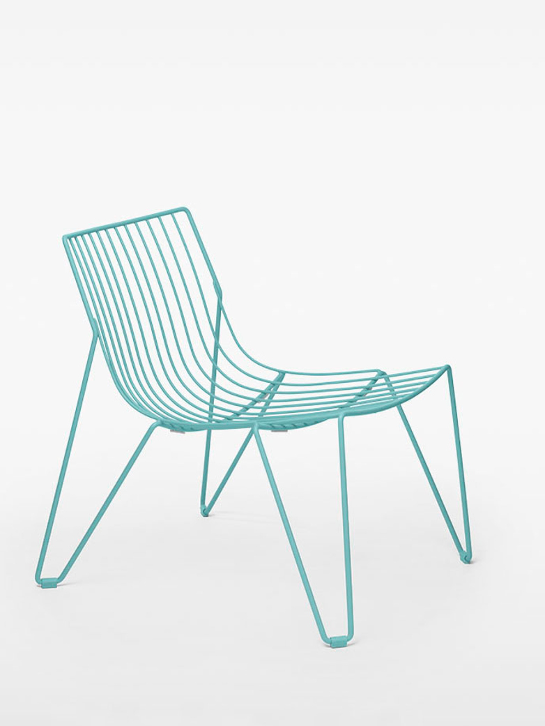 Tio Easy Chair – Pastel Turquoise