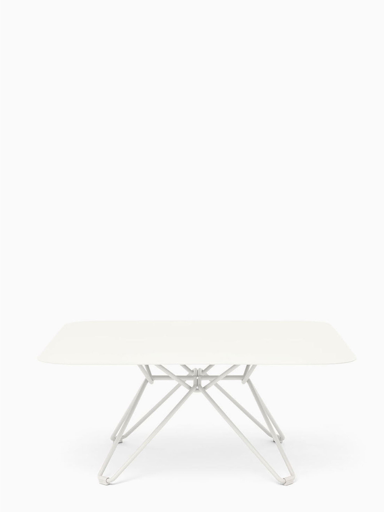 Tio Coffee Table – White – 85x85
