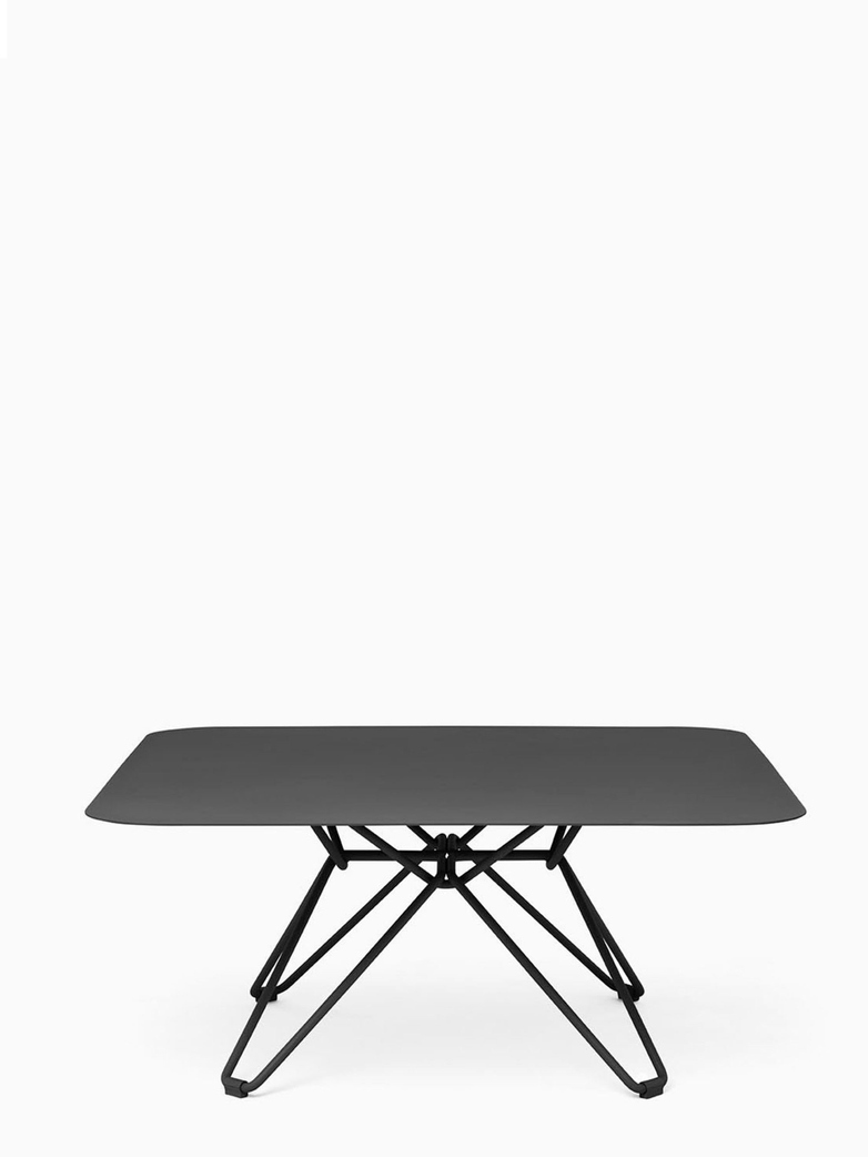 Tio Coffee Table – Black – 85x85