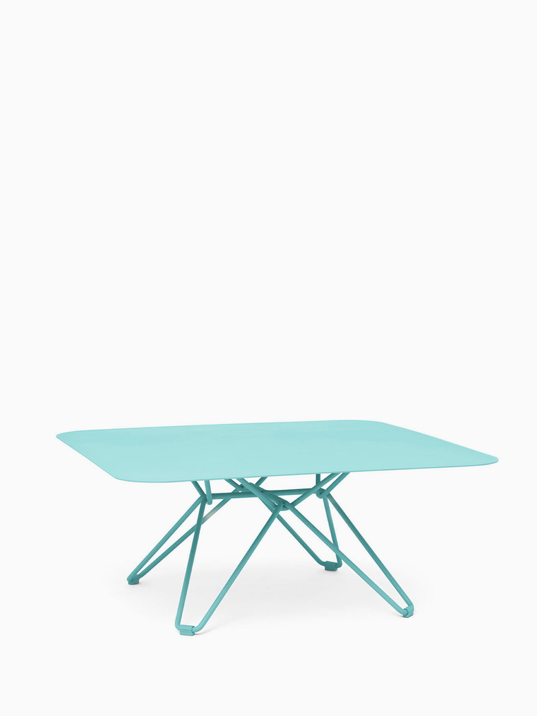 Tio Coffee Table – Pastel Turquoise – 85x85