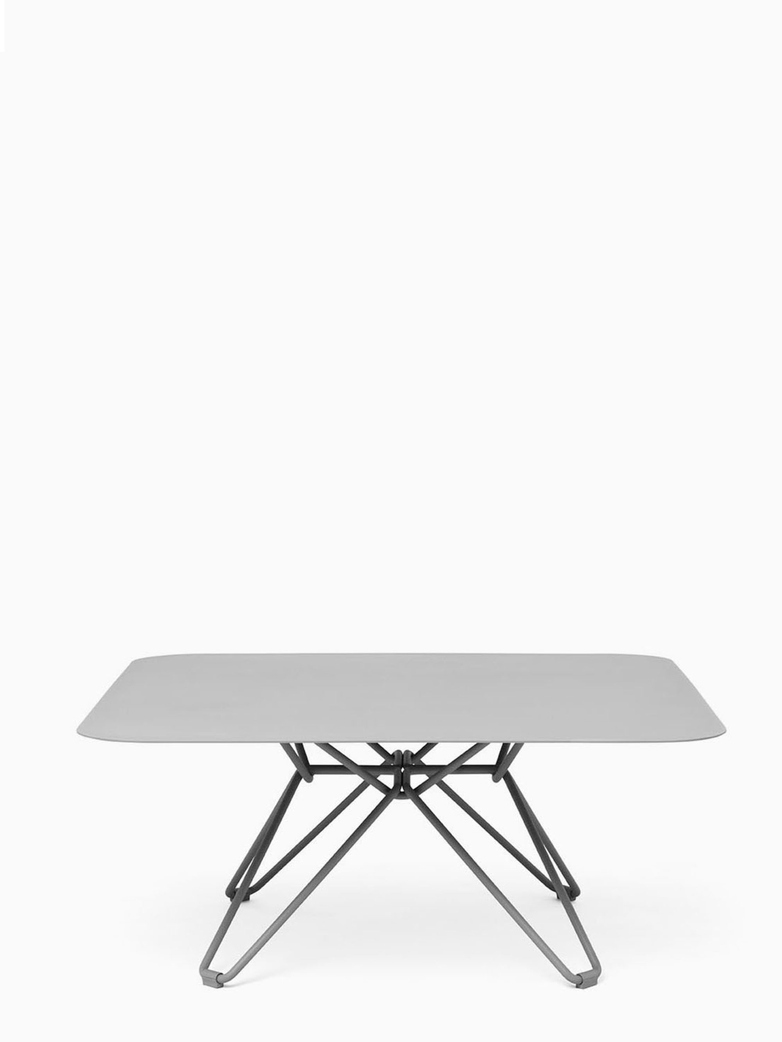 Tio Coffee Table – Stone Grey – 85x85