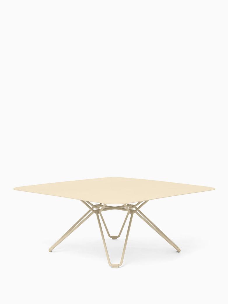 Tio Coffee Table – Ivory – 85x85