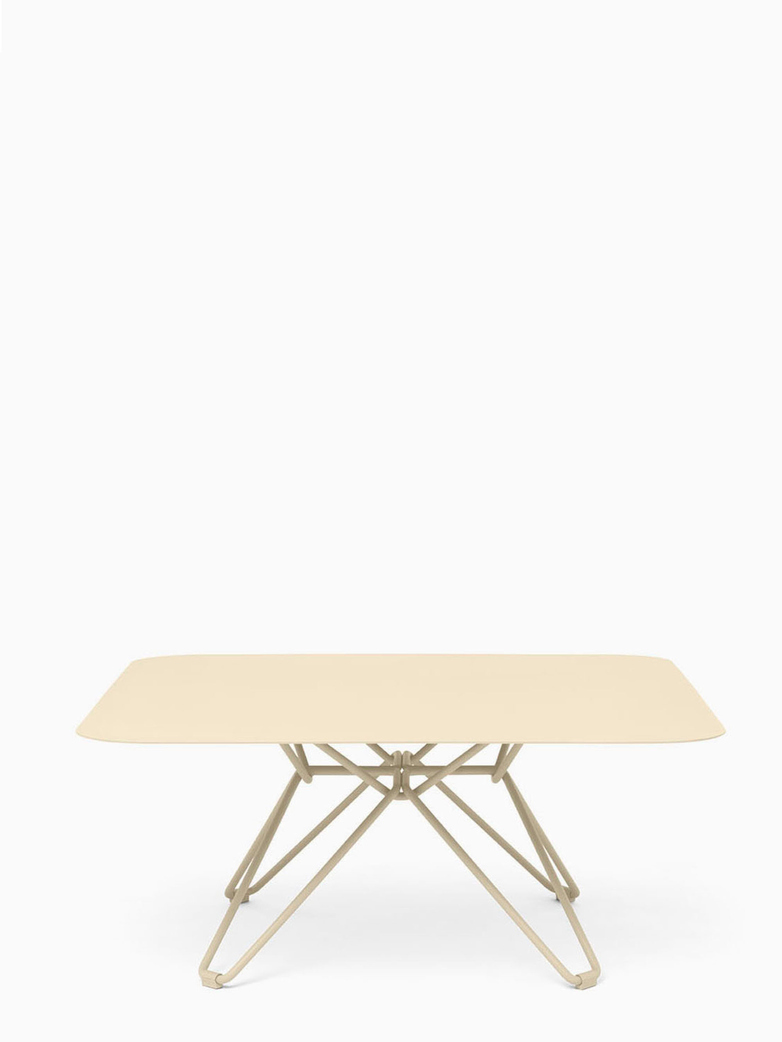 Tio Coffee Table – Ivory – 85x85