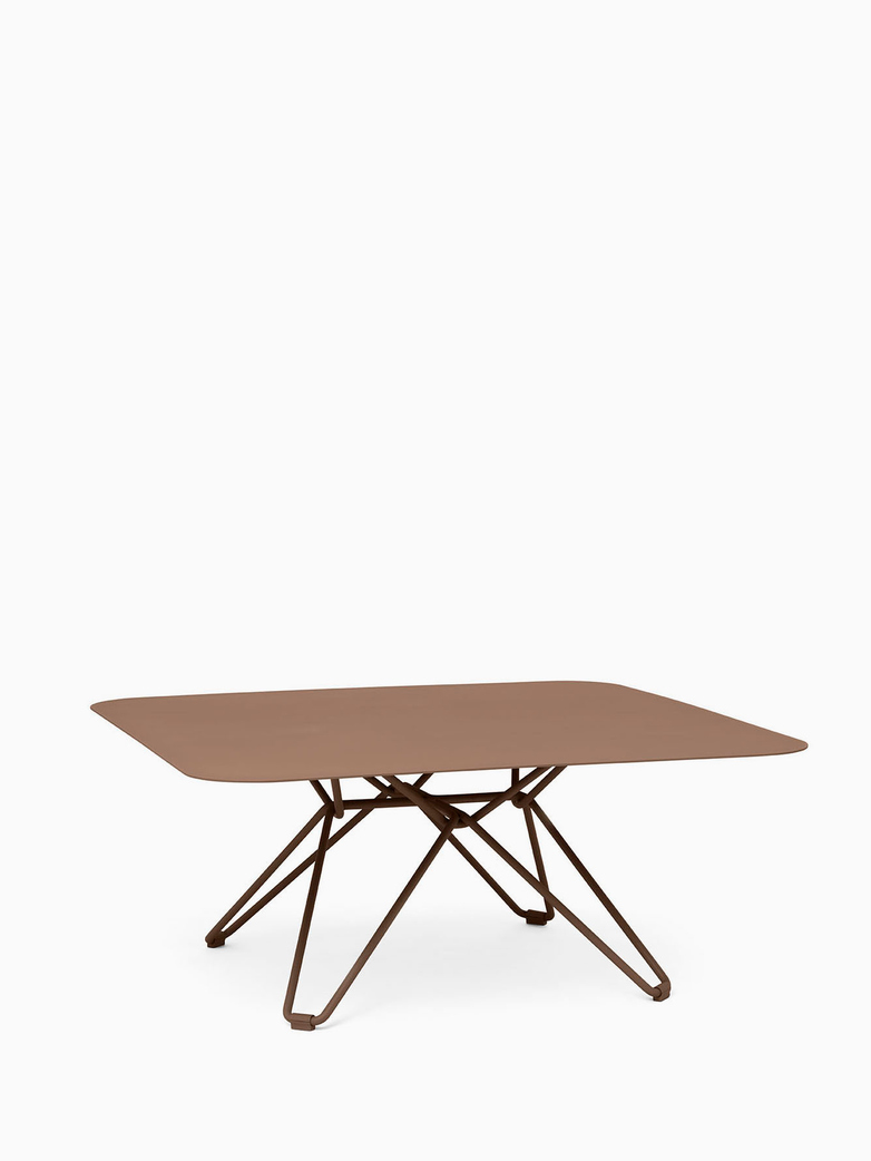 Tio Coffee Table – Pale Brown – 85x85