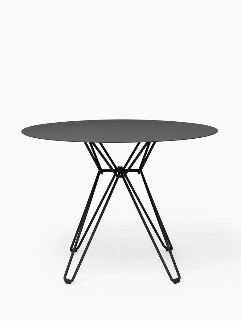 Tio Dining Table – Black – Ø100