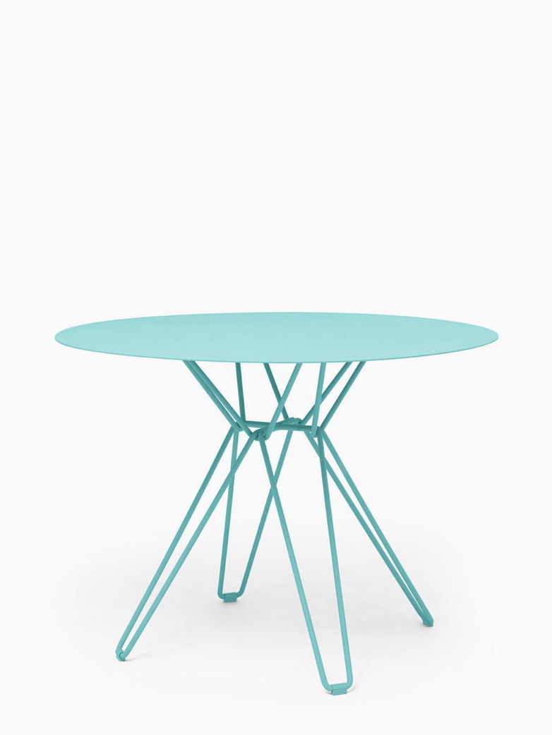 Tio Dining Table – Pastel Turquoise – Ø100